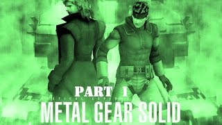 Metal Gear Solid: The Twin Snakes - Walkthrough Gameplay - Solid Snake - Part 1