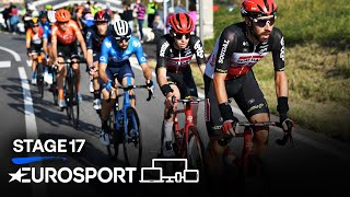 Giro d'Italia 2020 - Stage 17 Highlights | Cycling | Eurosport