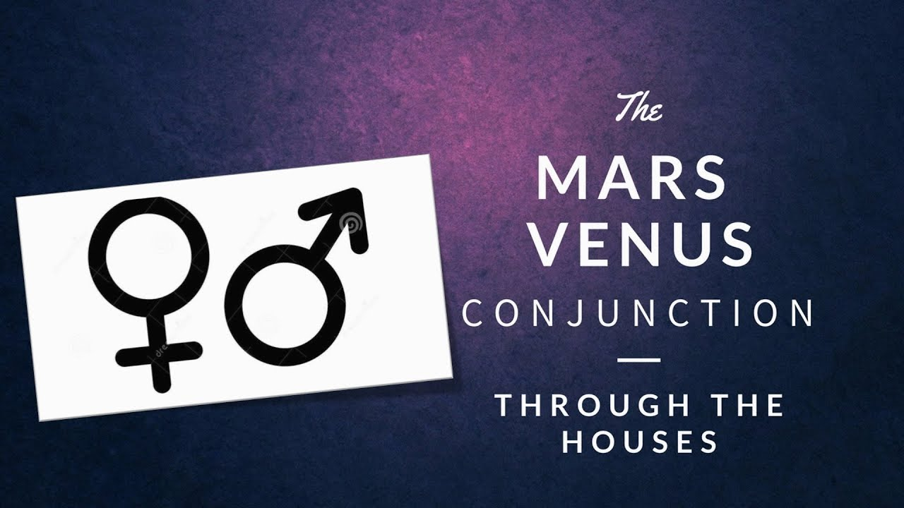Astrology | Mars Venus Conjunction Through the Houses| Raising Vibrations