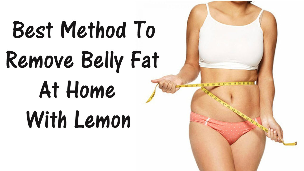 Best method to remove belly fat at home with lemon youtube best method to remove belly fat at home with lemon ccuart Images