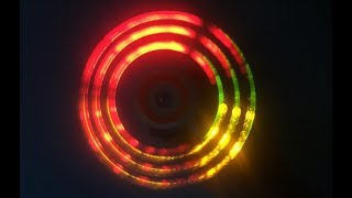 How to make LED spinner for kids / Widget toy