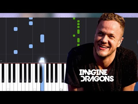 Imagine Dragons - Machine Piano Tutorial