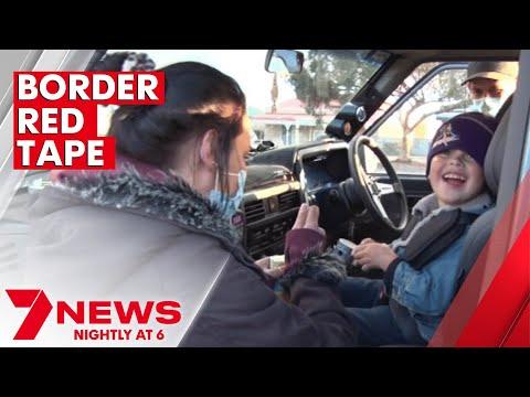 Dozens of South Australians left stranded in Broken Hill awaiting border approvals | 7NEWS