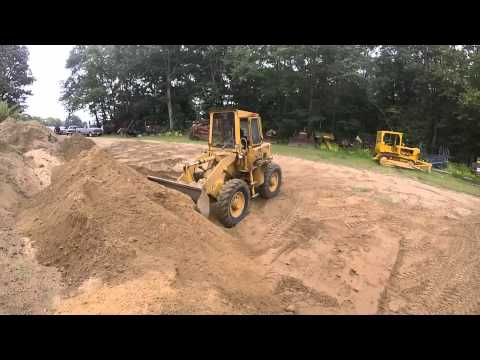 Hough H30 wheel loader - YouTube