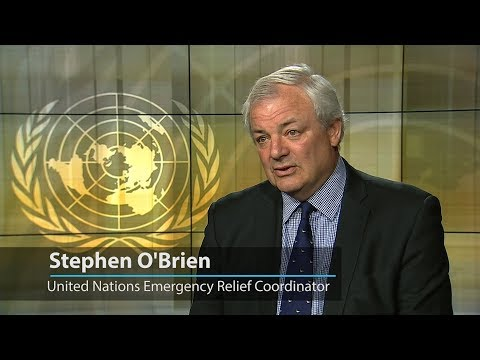 UN relief chief hails extraordinary humanitarian work done around the world