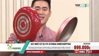 [VTV-HYUNDAI] ECORAMIC - Bộ 4 chảo chống dính cao cấp