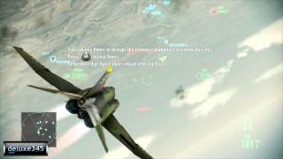 Ace Combat Assault Horizon - Enhanced Edition Gameplay (PC HD)