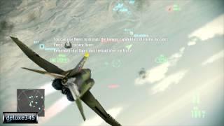 Ace Combat Assault Horizon - Enhanced Edition Gameplay (PC HD)