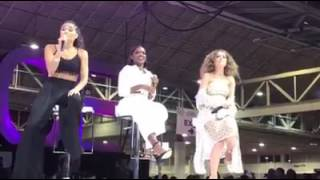 Star Cast- Jude, Ryan and Brittany performing unlove you at essence fest 2017