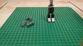 Как сделать робота из лего.