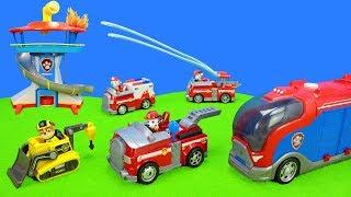 Paw Patrol Spielzeug Unboxing: Feuerwehr Löscheinsatz | Feuerwehrautos & Polizeiautos Als Kinderfilm