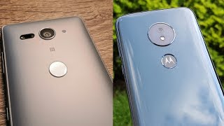 Sony Xperia XZ2 Compact vs Motorola Moto G6 Play - Camera Test