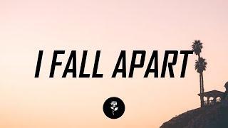 Post Malone - I Fall Apart (Lyrics / Lyric Video) Andrey Azizov Remix