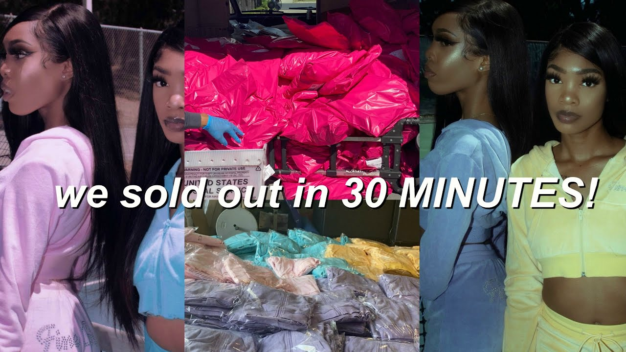 Selling Out of My Store In 30 Minutes | 19 Year Old Entrepreneur