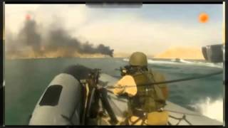Dutch Marines combat Somali pirates take A Cargo Ship