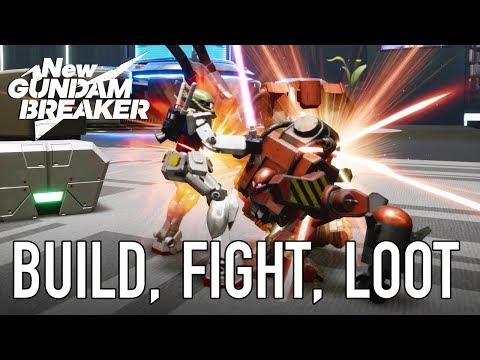 New Gundam Breaker Ps4 Build, Fight,