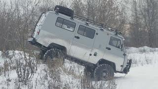 УАЗ 452 буханка. Автомобиль для .охоты и рыбалки.