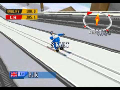 Nagano Winter Olympics 1998 Ps1/Psx/Ps One Gameplay Video