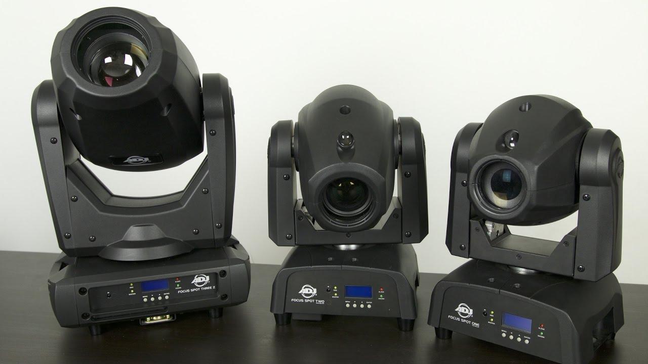 Download First Impressions | ADJ Focus Spot Series & myDMX 3.0