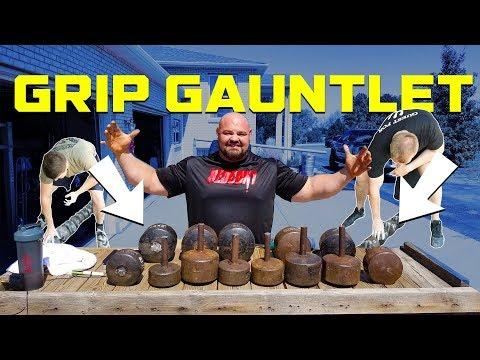 THE SUPER GRIP GAUNTLET | GRIP STRENGTH | BRIAN SHAW