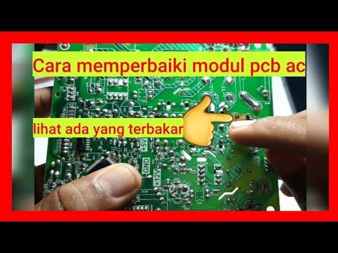 Belajar Memperbaiki Modul Pcb Ac Youtube