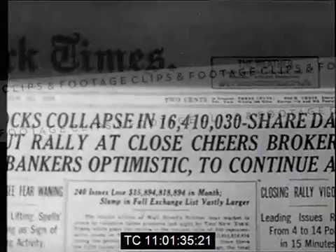 1929 Wall Street Crash