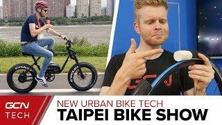 New Urban Bike Tech | Taipei Cycle Show 2018