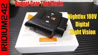 Budget Gear That Works Nightfox 100V Digital Night Vision