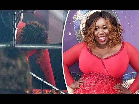 Strictly Come Dancing 2017; Chizzy Akudolu 'FALLS over' during launch