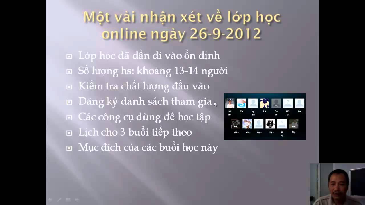 Lịch học php online miễn phí