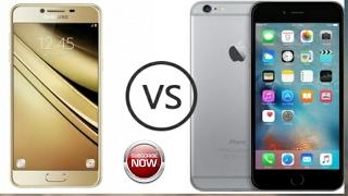 Samsung Galaxy C9 Pro Vs iPhone 7 Plus (Full Comparison)