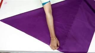 Dhoti And Samosa Salwar (age 10 To 12 Years) Cutting And Stitching