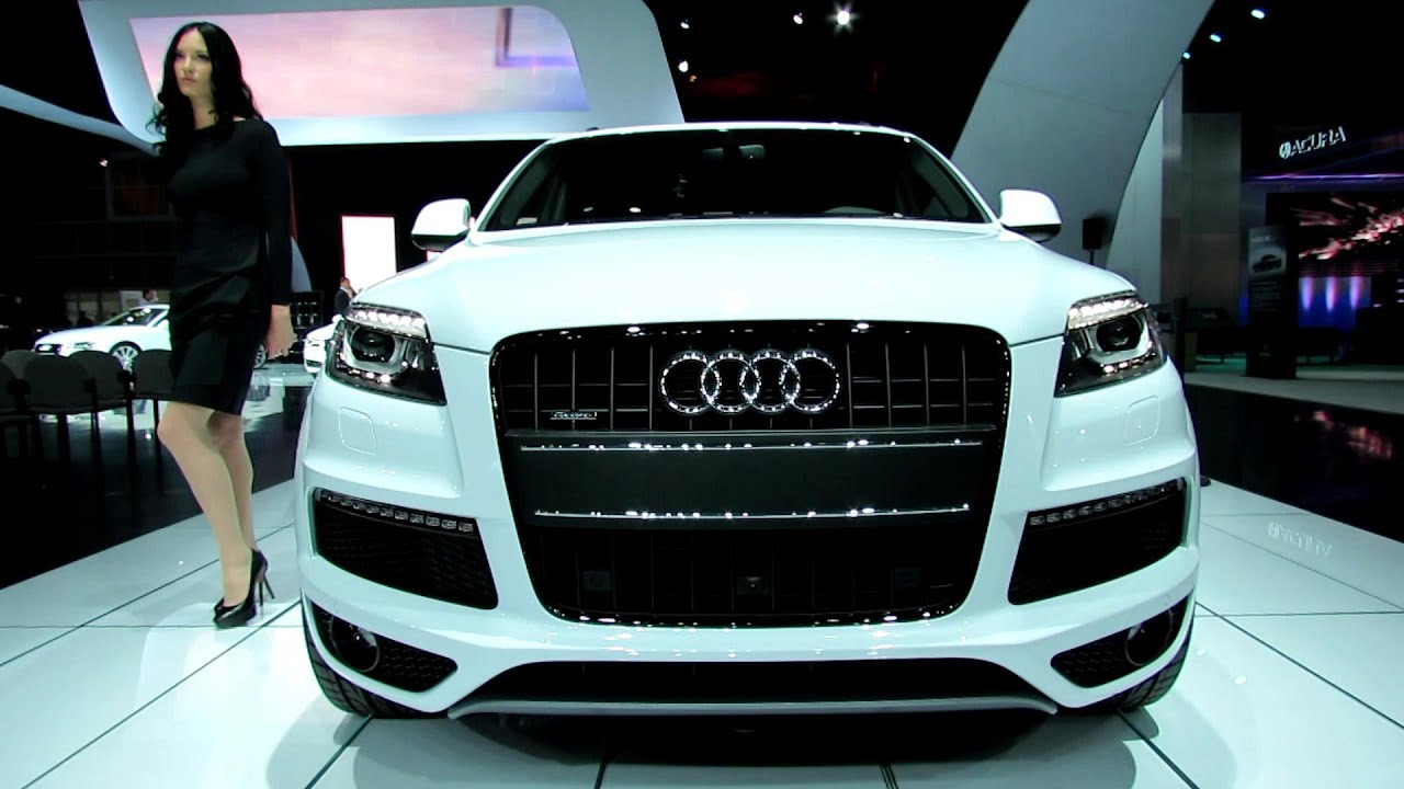 2013 Audi Q7 Tdi Quattro Exterior And Interior