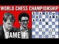 World Chess Championship 2018 Game 4: Magnus Carlsen vs Fabiano Caruana