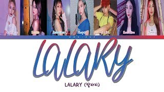 Lalary (랄라리) - 'lalary 랄라리' color coded lyrics (han|rom|español) sub español