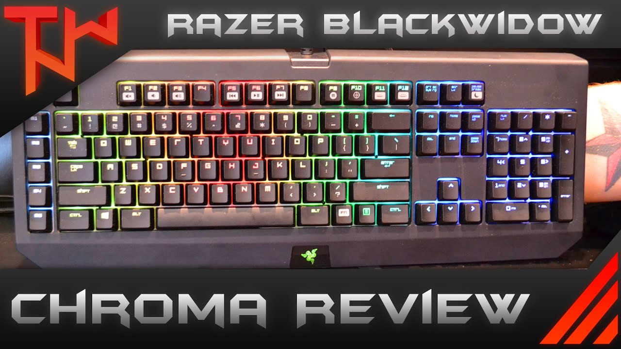 025c069faf6 Razer BlackWidow Ultimate Chroma Review - YouTube