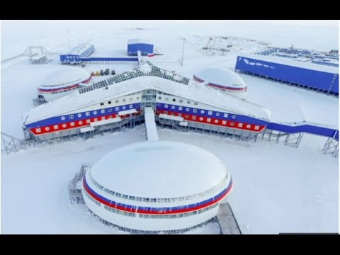 RUSSIA JUST UNVEILED A NEW MILITARY BASE!