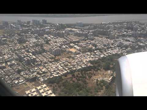 Surat Airport Landing Video By Aaroz Fashion