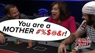 Jen Tilly CUSSES OUT Jason Mercier | S5 E14 Poker Night in America