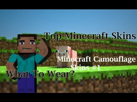 Free Minecraft Skins Download - Top 8 Camouflage Minecraft Skins Decoy Skins #1