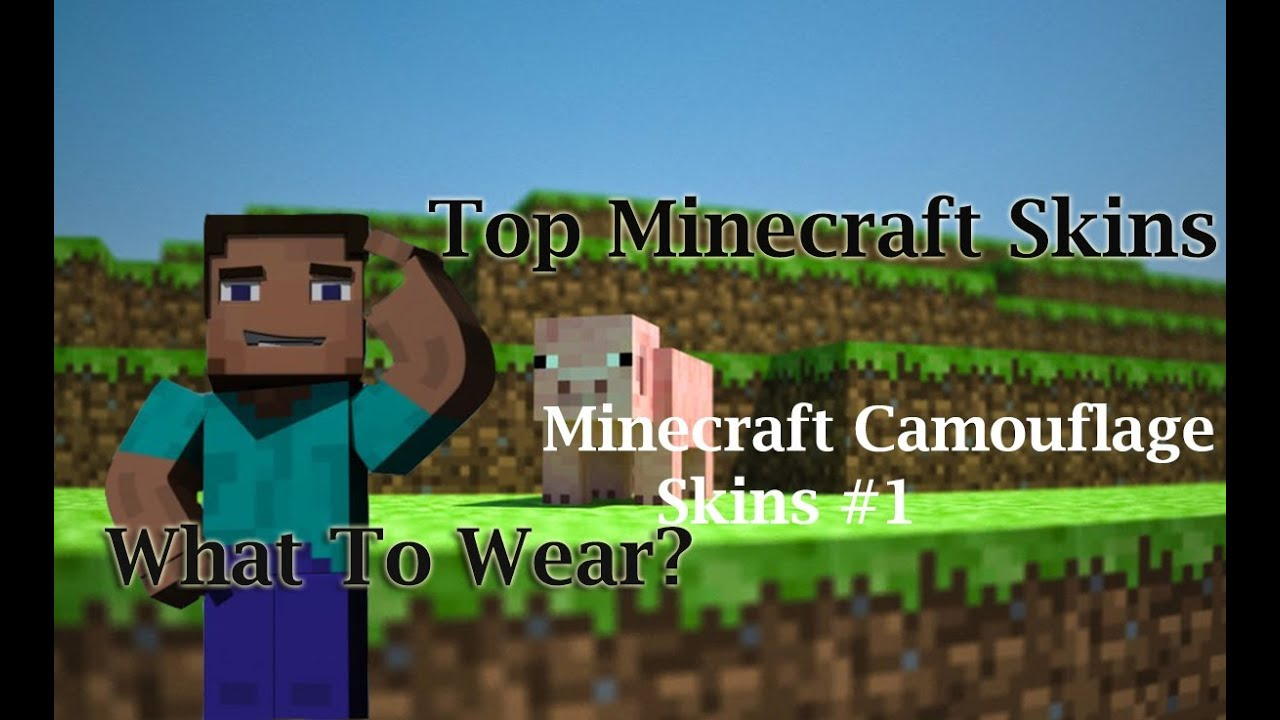 Free Minecraft Skins Download Top Camouflage Minecraft Skins - Camo skins fur minecraft