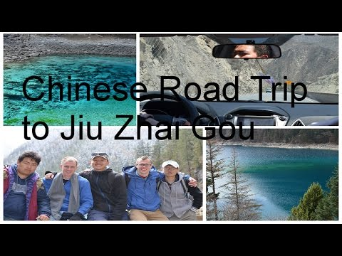 Chinese Road Trip to Jiu Zhai Gou [Day 1]