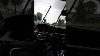 Audi quattro  yağmurlu snap (gülden mutlu)