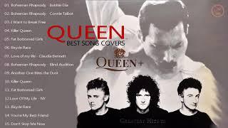 Gambar cover Ratu terbesar Hits Album penuh | Terbaik lagu Queen menutupi oleh penyanyi