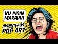 KU INGIN MARAHH!... SKINNYFABS VECTOR POP ART | #SPEEDART