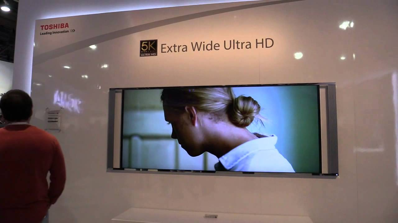 Toshiba 5K Extra Wide Ultra HD TV Deutsch YouTube