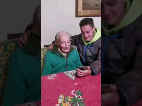 Lionel Messi da gran sorpresa a abuelito de 100 años