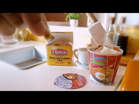 REAL MINIATURE INDOMIE CUP | MIE GORENG