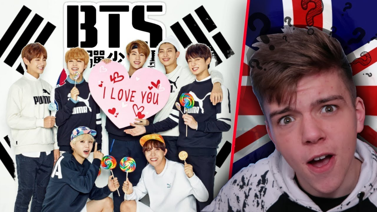 REACTING TO BTS - British Boy Reacts to BTS for the first time - K POP  don't leave me REACTION
