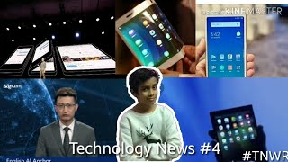 Technology News #4 - Xiaomi budget phone, Galaxy X price, first AI news reporter, Samsung Galaxy X,